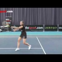 Tennis Forehand- How to Hit a Forehand Volley