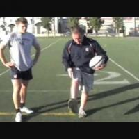 Rugby Kicking Technique