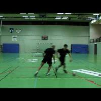 Handball Hits Pull and sprint training