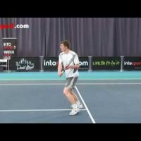 Tennis Backhand Volley Technique