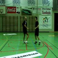 Handball development fast feet