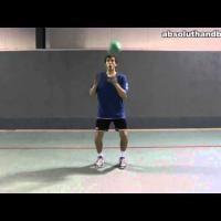 Coordination Training with a handball (1)