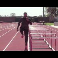 Hordenlopen: Hurdle drills Lead leg, Trail leg, Alternate leg, 42 hurdle hops