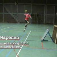 Tchoukball - Sprongworp