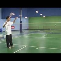 Badminton : How to Hit a High, Deep Serve in Badminton